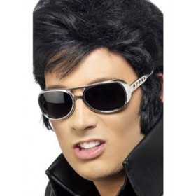 Elvis glasögon silver