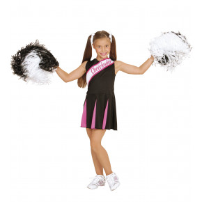 Sort Cheerleader Kjole