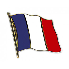 Fransk Flag Pin 2mm