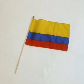 Columbia flag på pind