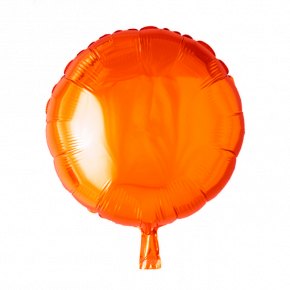 Orange Folie Ballon