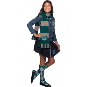 Slytherin Luksus Halstørklæde - Harry Potter Accessories