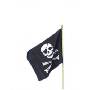 Pirate Flag på pinne