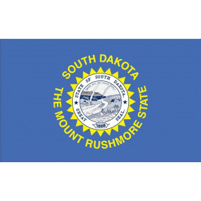 South Dakota flagga