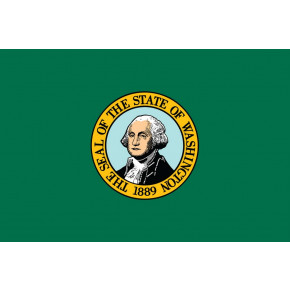 Washington flagga