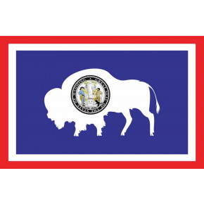 Wyoming flagga
